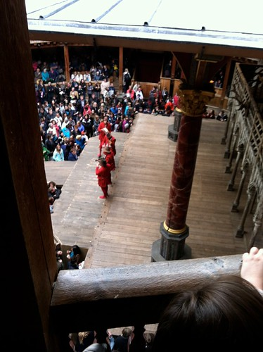 London - Globe Theater - Stage View