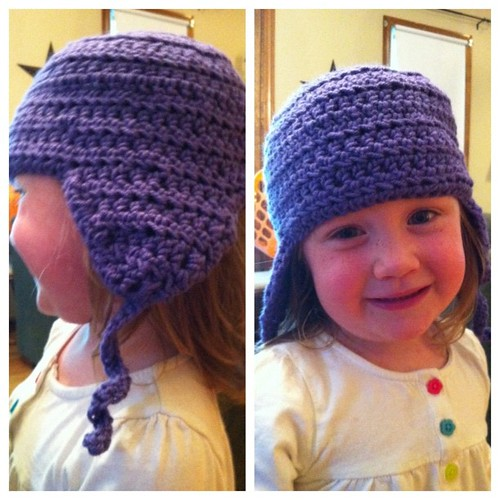 #hat is done!  #crochet