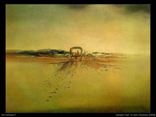 Salvador Dali Il carro fantasma