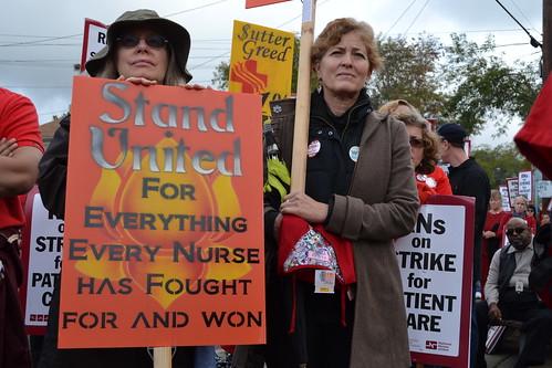Alta Bates Sutter Medical Center Rallies