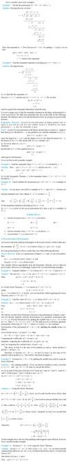 NCERT Class IX Maths Chapter 2 Polynomials