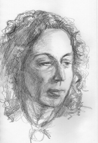 Margaret Atwood by husdant