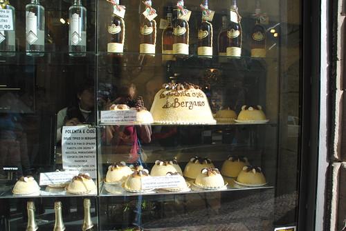 Bergamo polenta cake