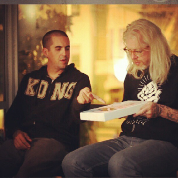 With #MikeGiant .... Still from Working Class Doc