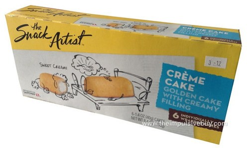 The Snack Artist Creme Cake