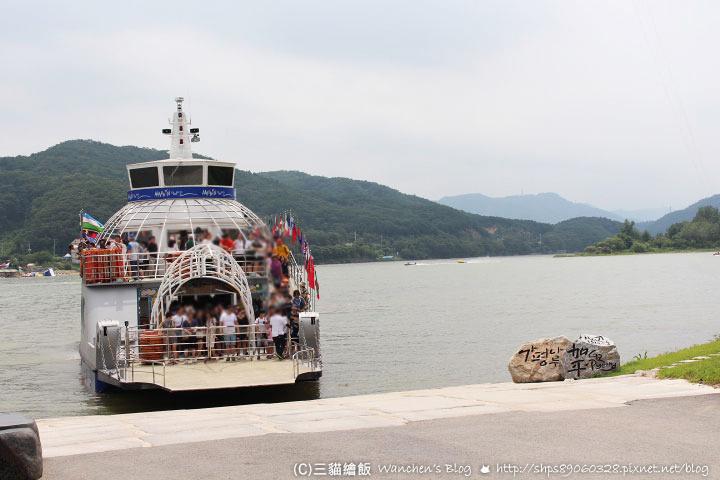 韓國南怡島 地圖&交通 遊船岸上遊玩路線《冬季戀歌》拍攝地 @ 三貓繪飯 :: 痞客邦
