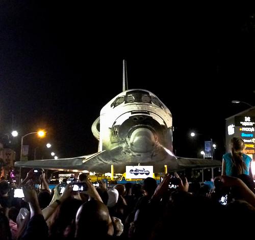 iPhone Shot - Shuttle Endeavour - Los Angeles, CA by NatashaBishop