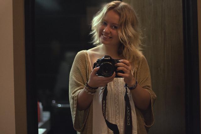 Buenos Aires - selfies in the bathroom mirror