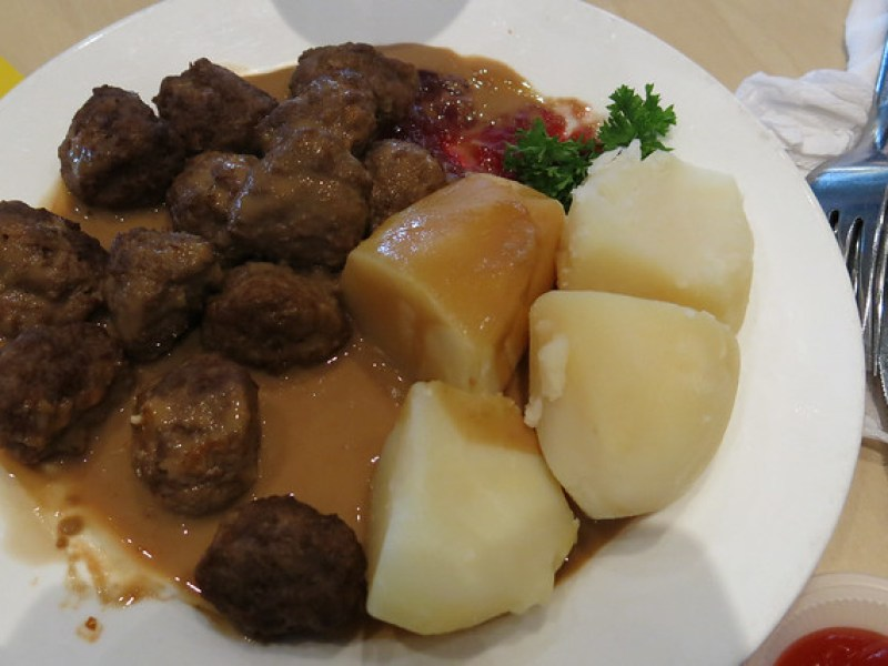 Swedish Meatballs at Ikea