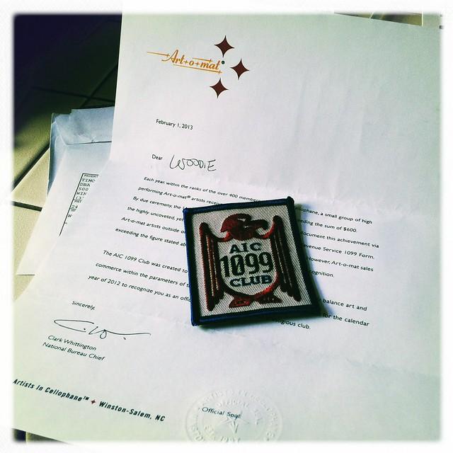 AIC 1099 Club Badge - 2012