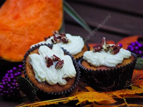 Cupcake aux saveurs d'automne / Autumn Flavour Cupcake