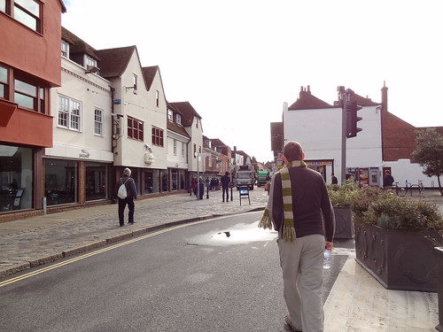 Beginning of High Street, Canterbury