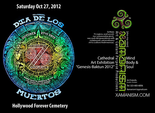 Dia De Los Muertos at the Hollywood Forever Cemetery