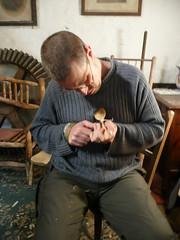 Alex spoon carving