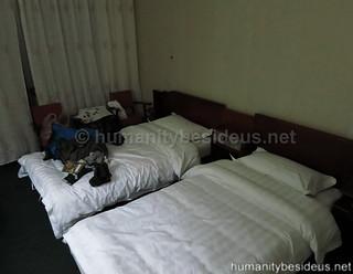Twin room at the Ryanggang