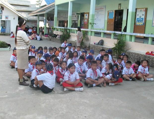 School in Pai Thailand