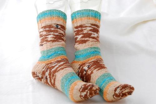 Knitmore Girls Vanilla Sock