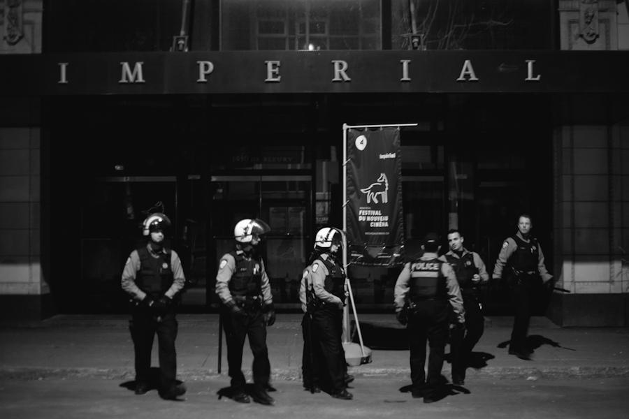 """Après la projection du film """"Insurgence"""" au FNC, cinéma impérial [Photos Thien V]"""