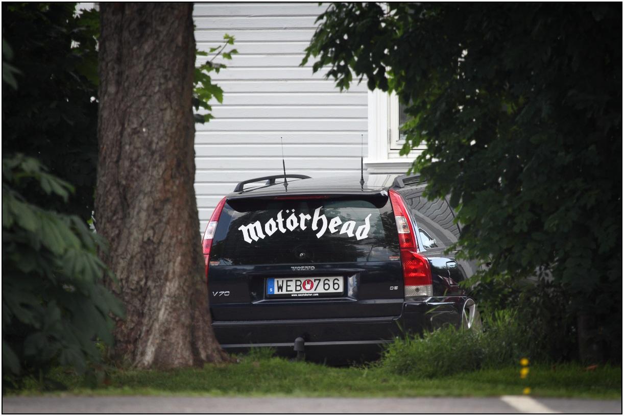 Volvo V50 Motörhead edition