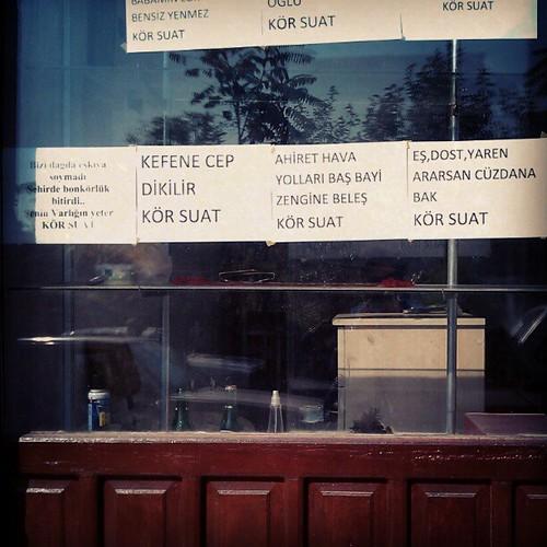 Cepli kefen dikilir #vitrine #beypazari #ankara