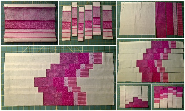 The something new Sampler - Bargello Block Collage