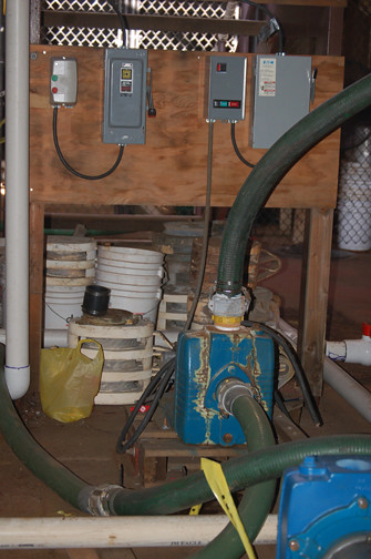 more work on pump system