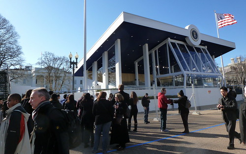 Reviewing stand