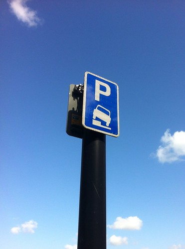 Sky parking by Simon Sharville