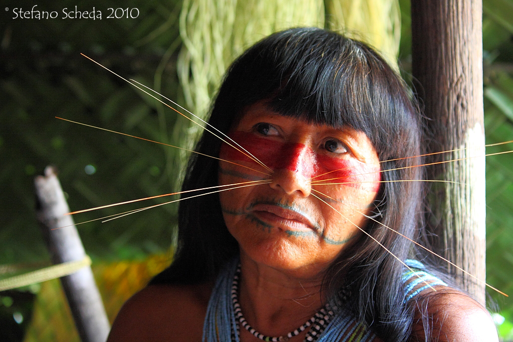Matsés woman - Peruvian Amazon
