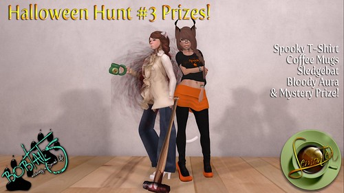 {Lemon Tea} & Bobtails!~ Halloween Hunt #3 by Sei Minuet / {Lemon Tea}