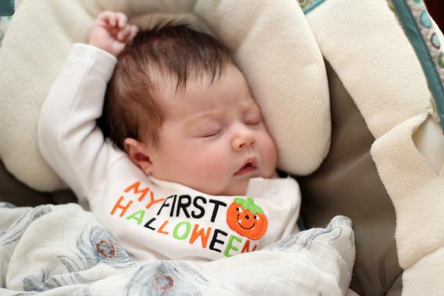 Harper's first Halloween
