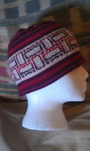 Tiled In Topper hat.