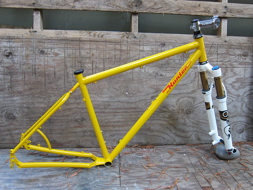 29er frameset by huntercycles