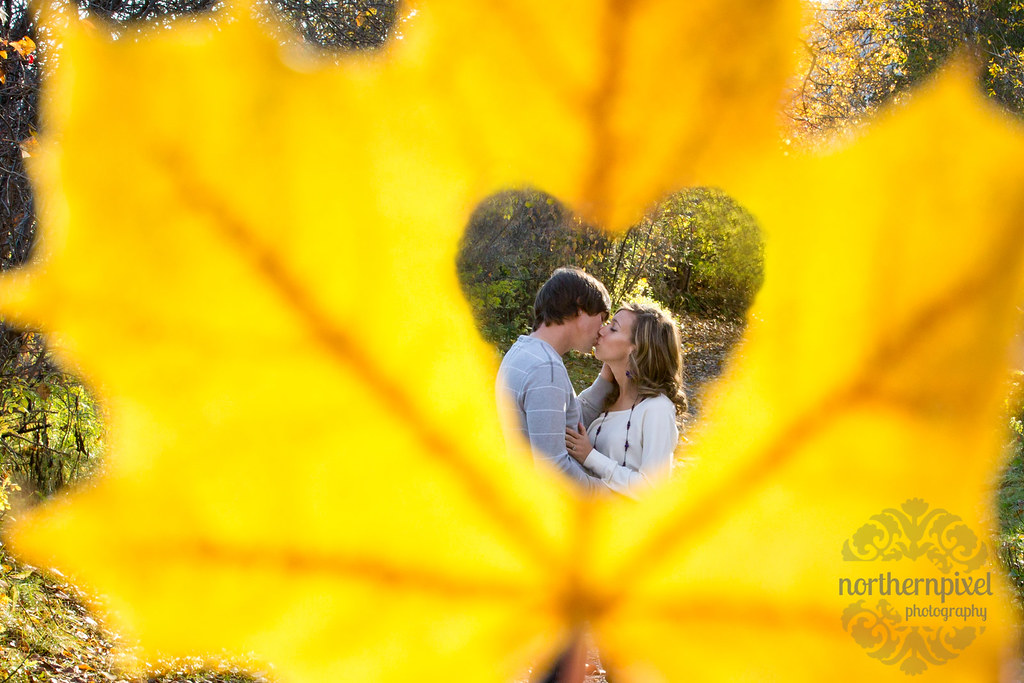 Fall Engagement Session - Prince George BC