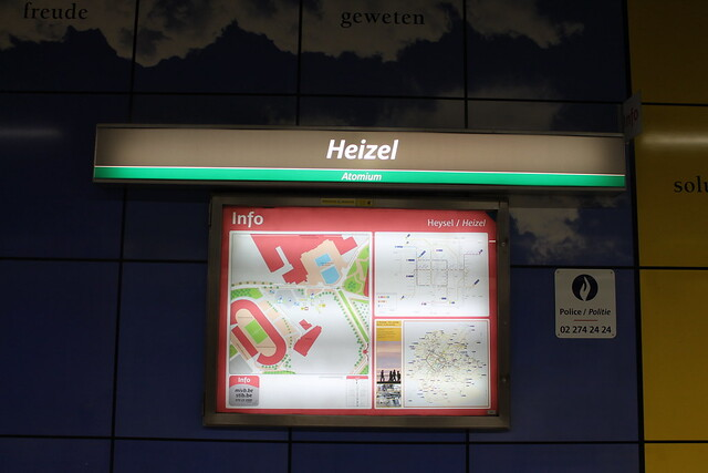 Heizel Station (Atomium)