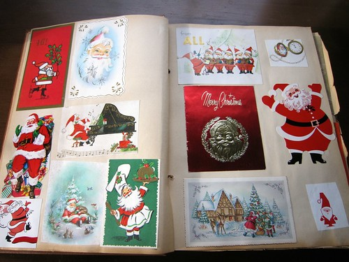 My Vintage Christmas Card Collection And Why Mod Betty
