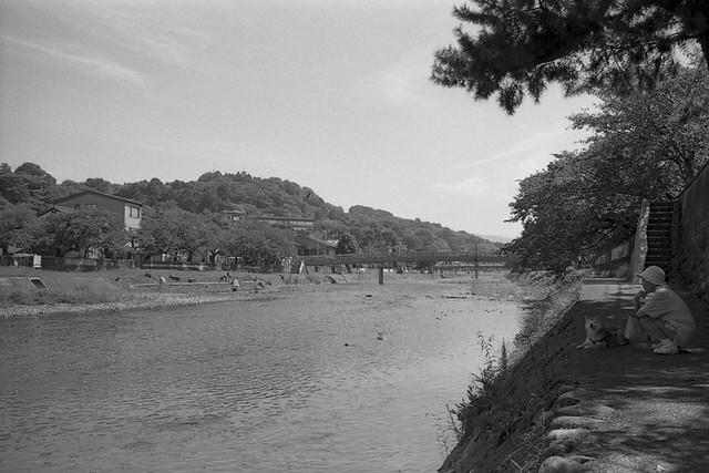 Asano River in Kanazawa