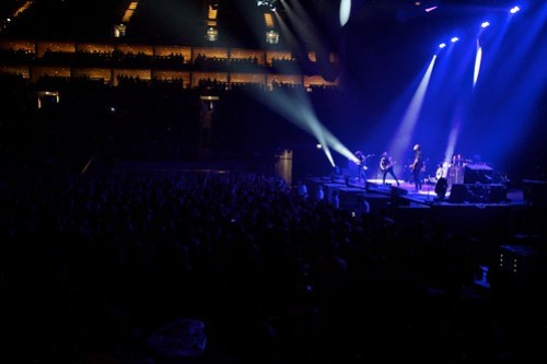 The Maccabees supporting The Black Keys at the O2