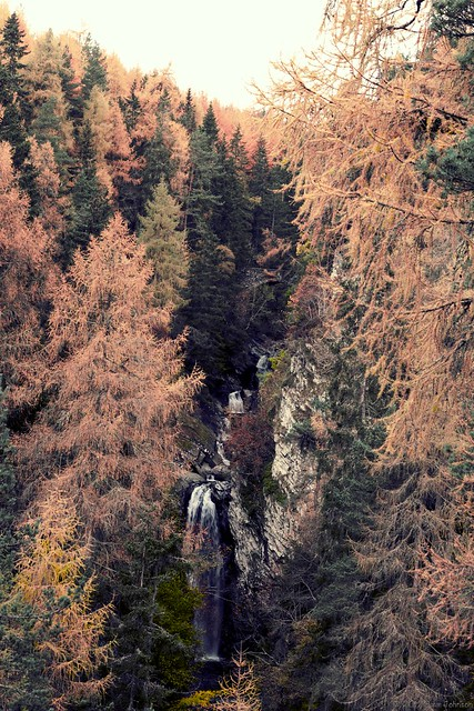 Higher Falls of Bruar