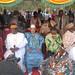 Nicéphore Soglo, Yohei Sasakawa, Amadou Toumani Touré, ancient Président du Mali, Olusegun Obasanjo, 25e anniversaire de l'ONG Sasakawa Global 2000, Musée national de Bamako, nov 2011 © Eric Benhamou