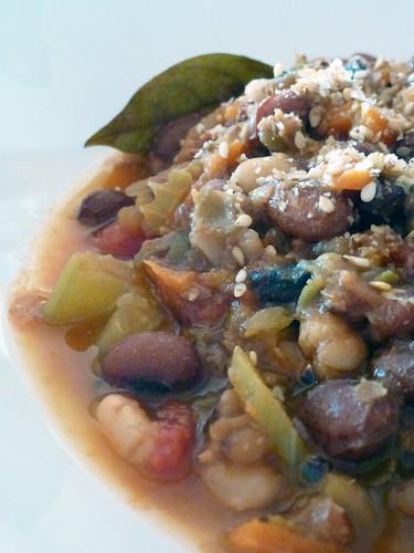 Legume soup - zuppa di legumi