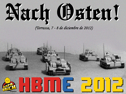 Panzerbricks en HispaBrick Magazine Event 2012