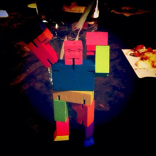 """""""I shall destroy..."""" lol this Cube Bot is awesome!!"""