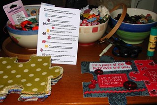 table set for stitch-in
