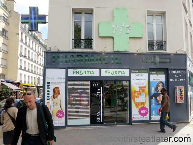 Lenox Montparnasse - restaurants & shops on Rue Delambre-006