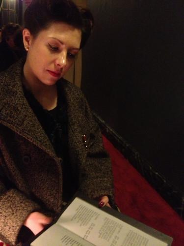 In theatre 3
