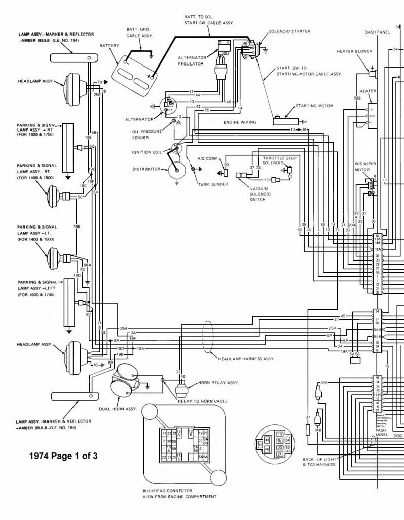 related with 75 jeep cj5 alternator wiring diagram