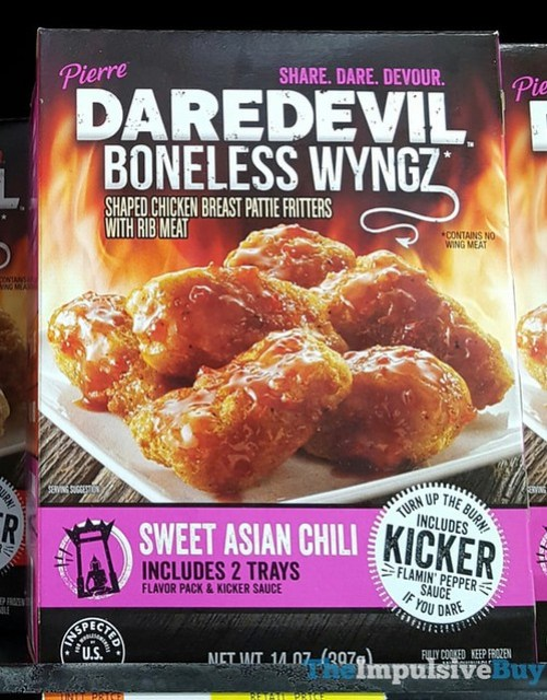 Pierre Daredevil Boneless Wyngz Sweet Asian Chili