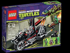 79101 Shredder's Dragon Bike - 1