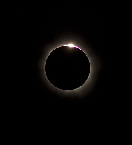 Total solar eclipse, far north Qld, Australia